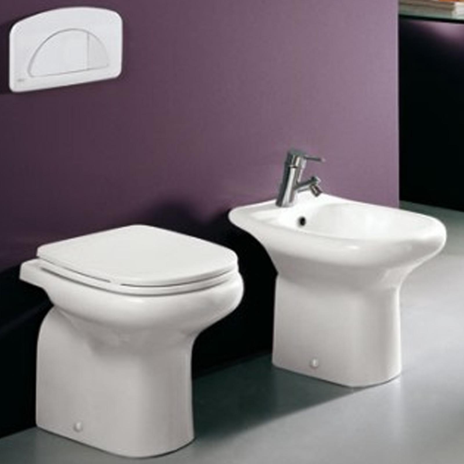 3 sanitari tradizionali wc bidet sedile for Sanitari bagno