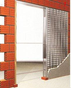 MONTAGGIO PORTE : montaggio PORTA SCORREVOLE interno muro standard