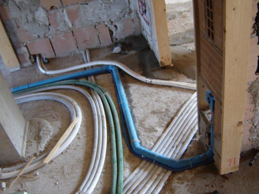 Foto lavori ristrutturazione appartamenti trieste - Impianto idraulico cucina ...