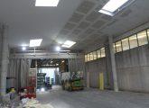 Capannone Prefabbricato. costruzione interno