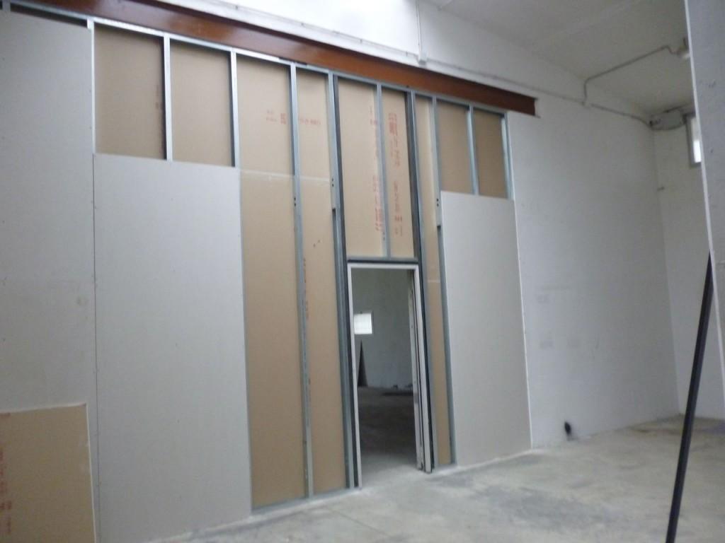 3 controparete posa di nuovo in cartongesso ristrutturazione appartamenti trieste impresa - Porta per cartongesso ...